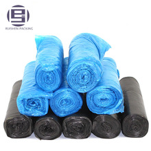 HDPE plastic garbage bags on roll