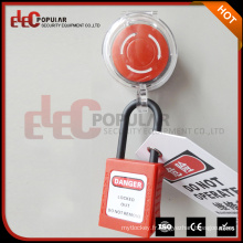 Elecpopular High Resolution Transparent Glass Resin Pc Durable Emergency Stop Lockout
