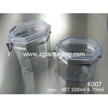 300ml 400ml 750ml 1000ml máscara latas frasco cosmético selar
