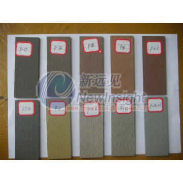 Color Samples Wood Plastic Composite Flooring