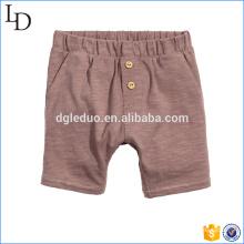 crianças calções cinzentos adoráveis calções causais confortáveis para o bebé