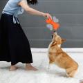 Agility animal produit en gros nature feutre frisbee chien jouet