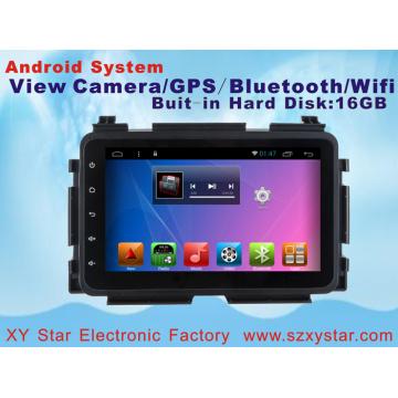 Système Android Car DVD Player Navigation GPS pour Honda Xrv 10.1 pouces avec Bluetooth / TV