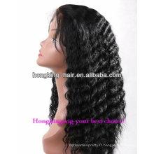 2013 nouveau style cheveux blonds humains pour les femmes noires perruques