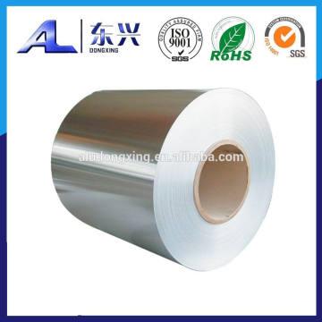 Feuillet en aluminium pour couvercles d'étanchéité thermique
