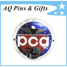 Emblema de emblema de metal quente com imitação Cloisonne Pin (badge-039)