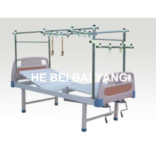 (A-146) Double Function Stainless Steel Orthopedics Traction Bed