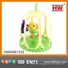 Новый предмет пластмассовый шарж поющий птица игрушка