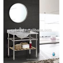 K-7001A Nuevo diseño Chrome Color baño espejo armario