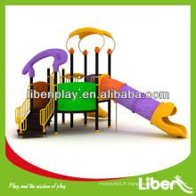 Équipement de jeu de plein air pour enfants avec toboggan à tube, Notre propre conception d'équipe de R & D disponible LE.YY.006