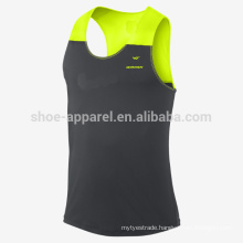 2014 100%polyeater mens running tank top