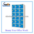 18 door barcode locker LED screen with electronic locks for lockers