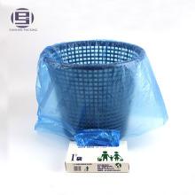 Биоразлагаемые компостируемые биопластика свернутый мешок отброса