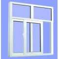 Fenêtre coulissante en aluminium double vitrage avec prix bon marché