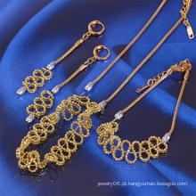 Xuping Moda Two-Tone conjunto de jóias (61311)
