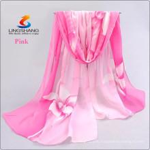 2015 новый шарф женщины длинний араб hijab печатание silk шифоновые шарфы способа шаль