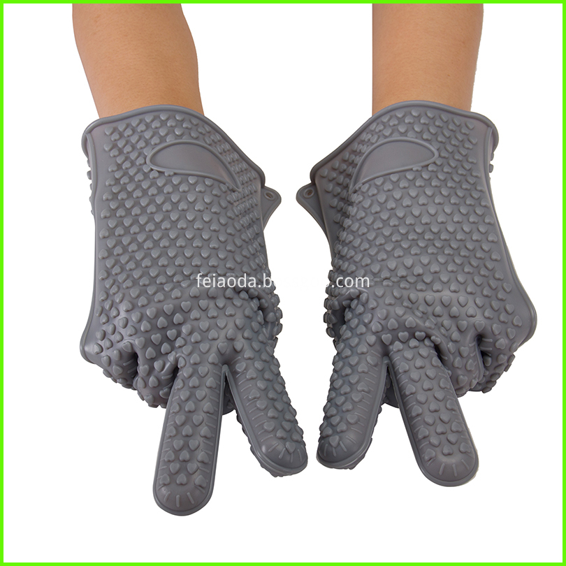 Grill Silicone Oven Gloves L Size