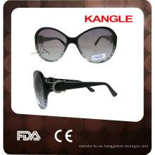 nuevas gafas de sol del acetato del diseño de 2014 italia para las mujeres