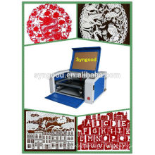 only need $1690-35W desktop co2 mini laser cutting machine for paper