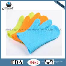Оптовая три перчатка силиконовые резиновые перчатки для приготовления Sg11