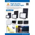 led solar flood lamp