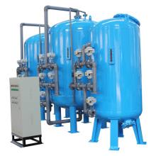 Industrial de múltiples unidades de filtro de arena para el tratamiento de agua