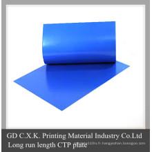 Plaque de qualité CTP pour Kodak Agfa Heidelberg