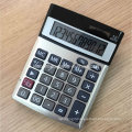12 Digits Dual Power Office Calculators with Aluminium Cover (CA1206A)