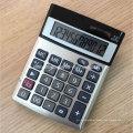 12 Digitas Dual Power Office calculadoras com tampa de alumínio (CA1206A)