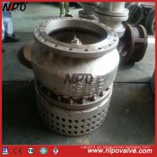 Válvula de pie con brida de acero inoxidable CF8m con colador