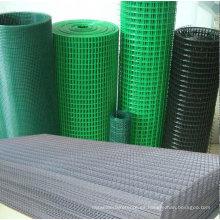 Valla / panel de malla soldada con costura lista (recubierto de PVC)