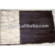 Mink Fur Scraps Plate