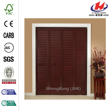JHK-B06 Louver Wood Equipped Laminate Interior Doors