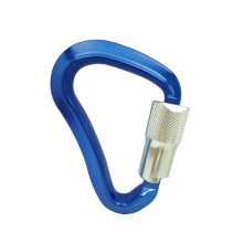 A445KTL ANSI Quick Triple Lock Aluminum Metal Climbing Hiking Carabiner