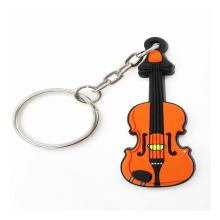 Sound Harbour Silicone Key Chain Violin
