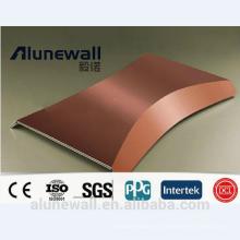 Panel compuesto de cobre incombustible de Alunewall CCP venta directa de la fábrica china