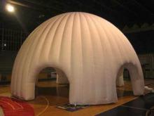 White Oxford Cloth Durable Inflatable Dome Party Tent For A