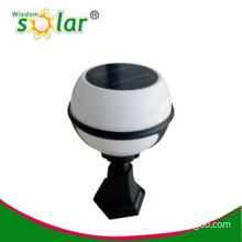 2014 hot sale solar lighting for garden with pMMA lampshade