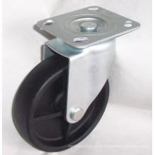 Roda de rodízio industrial PP Nylon