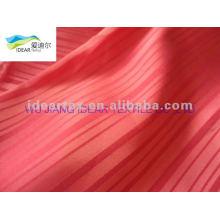 Tissu Satin jacquard de polyester pour textile à la maison