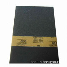 SIC abrasive paper, passed by SGS test, good-quality and cheaper price