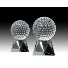 Noble CustomIzed Personlized bola de golf de cristal claro