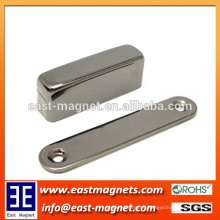 Ni Plated Block NdFeB Permanent Magnet for Generator Assemlies