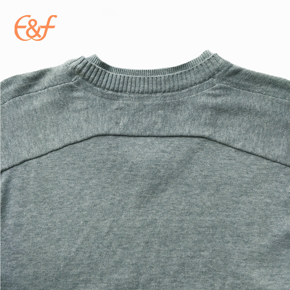 Pure color sweaters for men