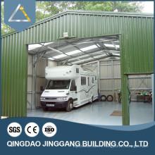 Prefab Galvanized Construction Sheet Metal Cheap Warehouse