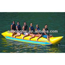 6 человек надувной банан лодки для продажи