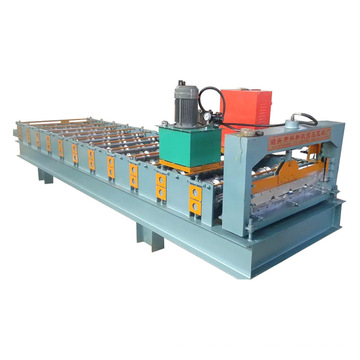 Roof Step Tile Roll Forming Machine