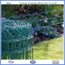 Malla de alambre revestida del jardín del PVC (TS-J201)