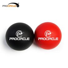 Exercícios de borracha feitos sob encomenda da bola da terapia do Lacrosse de ProCircle