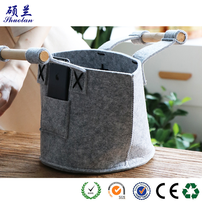 Good Polyester Felt Storage Basket
